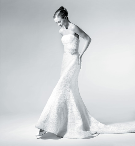 The knot for Saks wedding dresses