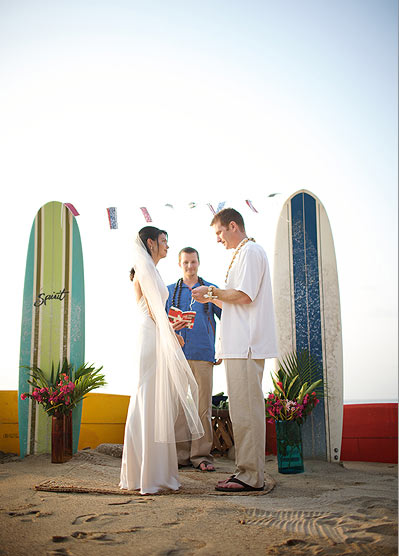 Ceremony Decor Idea Surfboard Altars Posted Wednesday July 07
