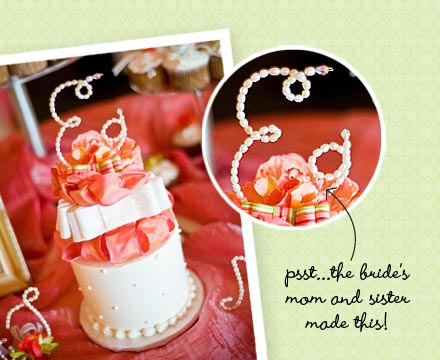 Wedding Cake Idea DIY Toppers Posted Monday March 23 2009 623 PM