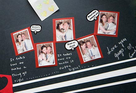 Wedding Guest Book Ideas The Photo Booth Meets the Scrapbook