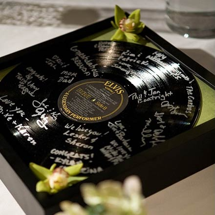 Wedding Guest Books Use Your Favorite Vinyl Posted Tuesday April 21