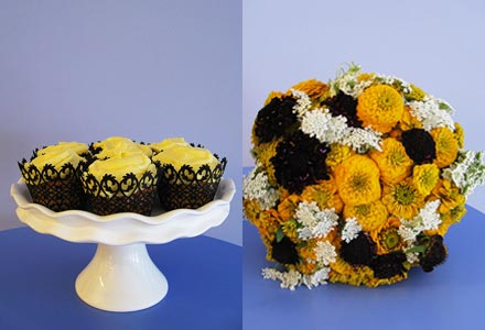 Wedding Color Scheme Idea - Black and Yellow. Posted Wednesday, July 08,