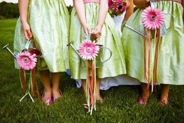 Alternative Flower Girl Basket Ideas : My pretty pink wedding