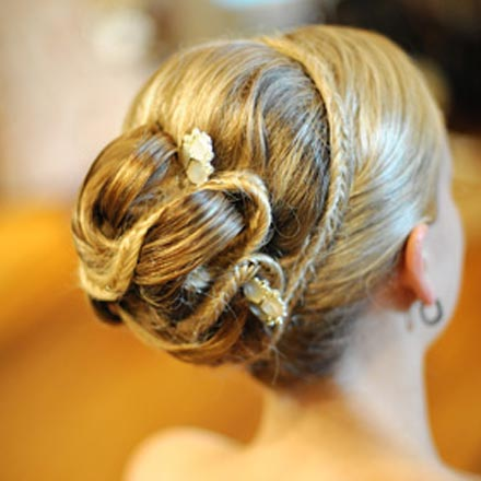 Wedding Hairstyles - An Elegant Braided Updo. Posted Friday, June 19,